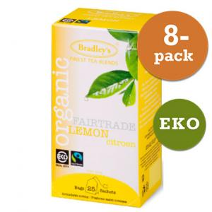 Citron Te Eko / Fairtrade 8x25st Bradley´S