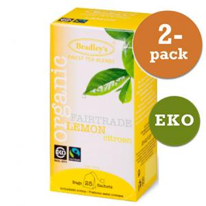 Citron Te Eko / Fairtrade 2x25st Bradley´S