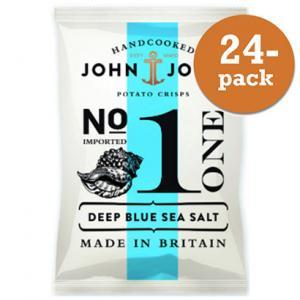 Chips Deep Blue Sea Salt John & John Crisps 24x40g