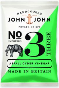 24st aspall vinegar chips från John John om 40g billigt hos Kolonialvaror. Alltid bra pris på skafferivaror i storpack. Perfekt för catering storhushåll restaurang och café. Vi levererar till hela Sverige!