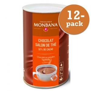 Chokladpulver Monbana Chocolaterie 12x1kg