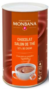 12st chokkladpulver från Monbana om 1kg billigt hos Kolonialvaror. Alltid bra pris på skafferivaror i storpack. Perfekt för catering storhushåll restaurang och café. Vi levererar till hela Sverige!