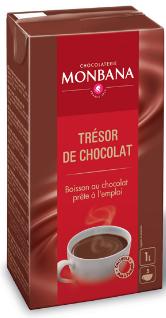 6st 1liter med dryckchoklad från Monbana om 1l billigt hos Kolonialvaror. Alltid bra pris på skafferivaror i storpack. Perfekt för catering storhushåll restaurang och café. Vi levererar till hela Sverige!