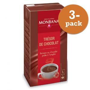 Chokladdryck ´ready To Drink´ Monbana Chocolaterie 3x1l