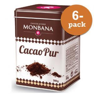Kakaopulver Monbana Chocolaterie 6x200g