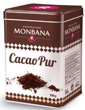 6st box med kakaopulver från Monbana om 200g billigt hos Kolonialvaror. Alltid bra pris på skafferivaror i storpack. Perfekt för catering storhushåll restaurang och café. Vi levererar till hela Sverige!