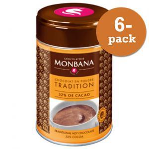Chokladpulver ´salon De Thé´ Monbana Chocolaterie 6x250g