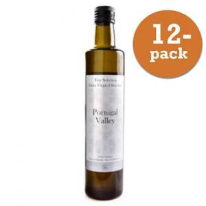 Olivolja Eko Top Selection Extra Virgin 12x500ml Portugal Valley