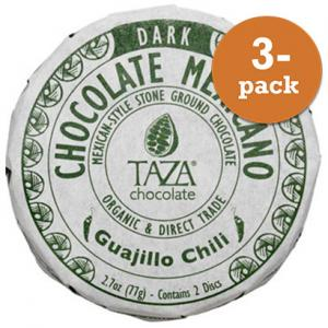 Chokladdisk 50% Guajillo Chili 3x77g Taza Chocolate
