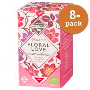 Te Floral Love 8x20st Påsar Eko Thee Van Oordt