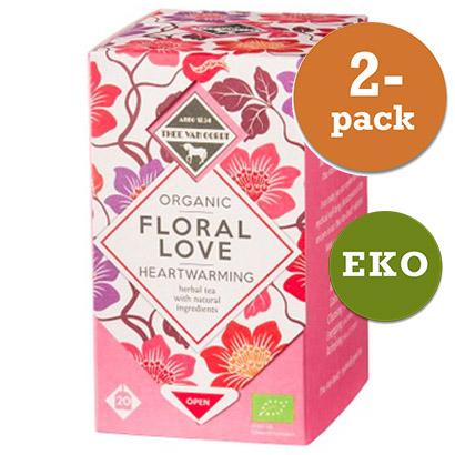 Te Floral Love 2x20st Påsar Eko Thee Van Oordt