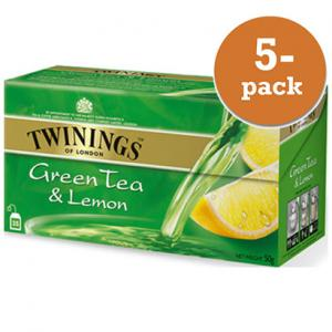 Grönt Te Med Citron Twinings 5x50påsar