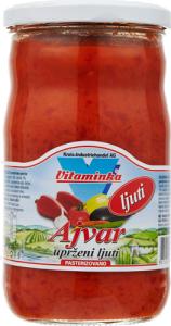 Stark Ajvar från Vitaminka i glasburk på 690g
