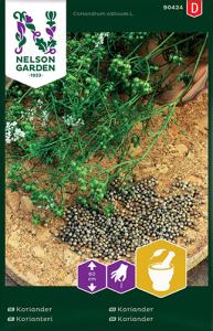 Koriander Premium Frö Nelson Garden