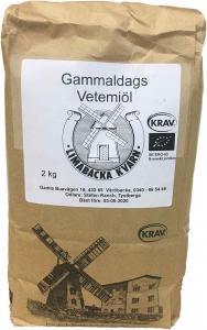 Gammaldags Vetemjöl KRAV 2x2kg Limabacka Kvarn