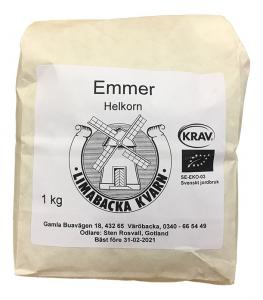 Emmer Fullkornsmjöl KRAV 2x1kg Limabacka Kvarn