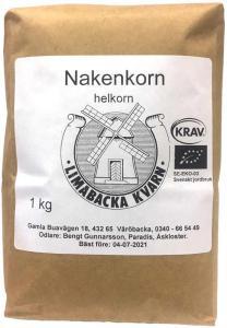 Nakenkorn Helkorn Krav 2x1kg Limabacka Kvarn