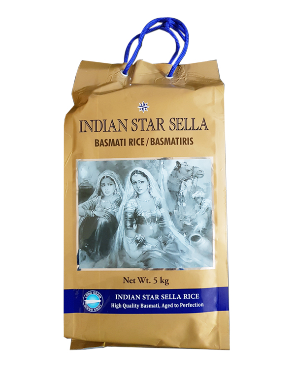 Basmatiris Sella 20kg Indian Star