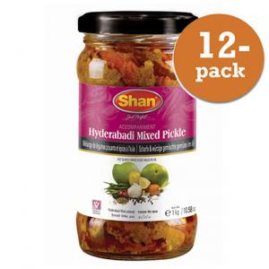 Hyderabadi Pickle 12x1kg Shan