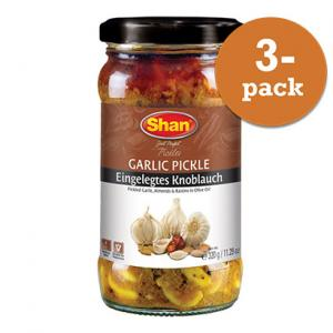 Vitlök Pickle 3x320g Shan