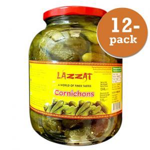 Cornichons 12x1348g Lazzat