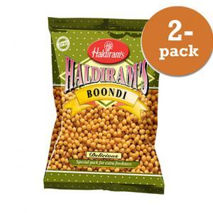 Boondi Plain 2x200g Haldiram