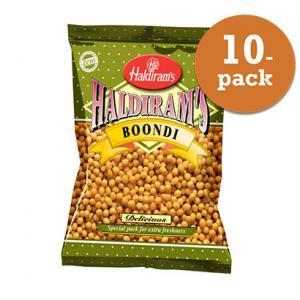Boondi Plain 10x200g Haldiram