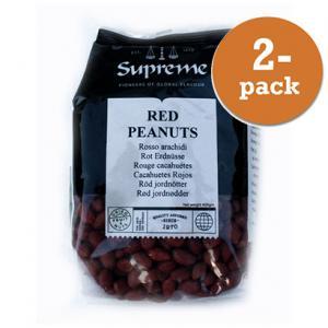 Jordnötter Röda 2x400g Supreme