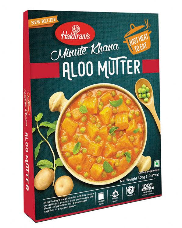 Aloo Matar 10x300g Haldiram