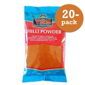 Chilipulver Mild 20x100g TRS