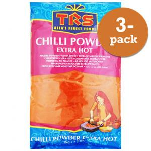 Chilipulver Extra Stark 3x1kg TRS