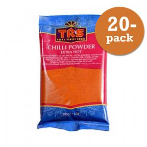 Chilipulver Extra Stark 20x100g TRS
