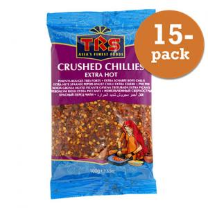 Chiliflakes 15x100g TRS