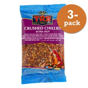 Chiliflakes 3x100g TRS