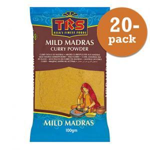 Currypulver Mild 20x100g TRS