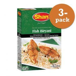 Fish Biryani 3x50g Shan