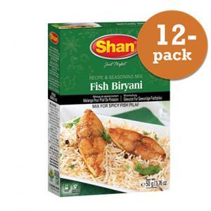 Fish Biryani 12x50g Shan