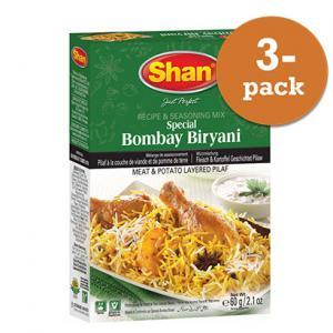 Bombay Biryani 3x60g Shan