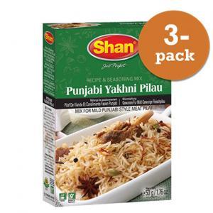 Punjabi Yakhni Pilau 3x50g Shan
