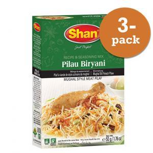 Pilau Biryani 3x50g Shan