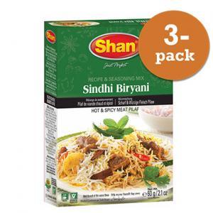 Sindhi Biryani 3x60g Shan