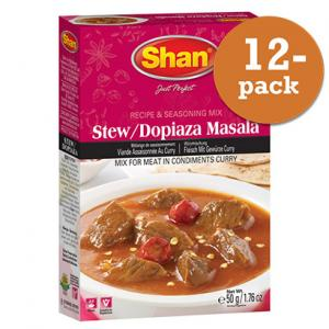 Dopiaza Stew Curry 12x50g Shan