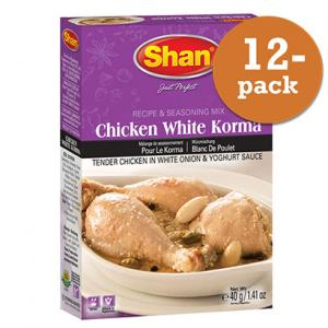Chicken White Korma 12x50g Shan