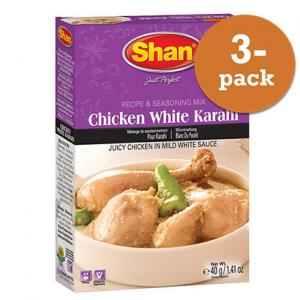 Chicken White Karahi 3x40g Shan