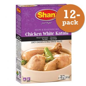 Chicken White Karahi 12x40g Shan