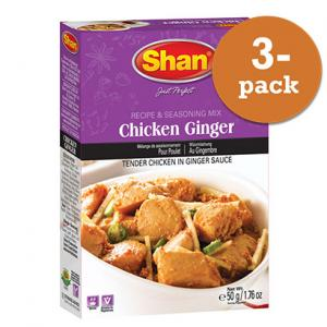 Chicken Ginger 3x50g Shan