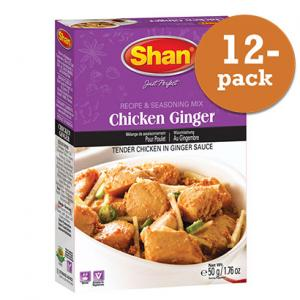Chicken Ginger 12x50g Shan