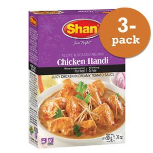 Chicken Handi 3x50g Shan
