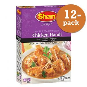 Chicken Handi 12x50g Shan