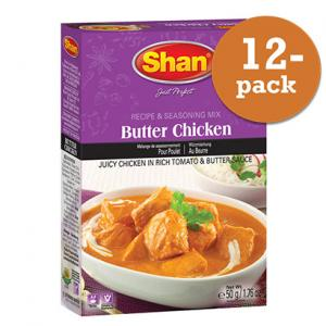 Butter Chicken 12x50g Shan